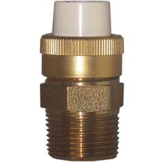 "Genova Products 53373Z 1/2"" Low Lead Cpvc Slip X 1/2"" Brass FIP Transition Union"