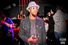 #Nightout #Brixton #hat #Retrosuperfuture #Glasses #Levi #Jacket #Hennessy
