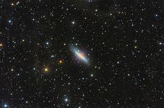 A Szivar-galaxis - Messier 82 | Tóth Gábor Asztrofotó