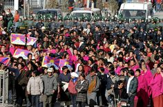 China has made possessing the Tibetan flag illegal in Tibet.