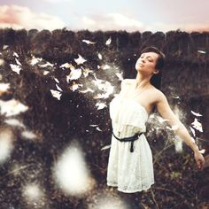 Wake Me in Another World by Audrey Simper, via Behance