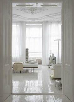 white on white on white • via Urban LifeStyle Decor