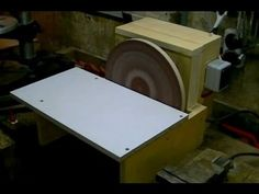 ▶ Building a Disc Sander (cheap and simple) Eigenbau Tellerschleifer - YouTube