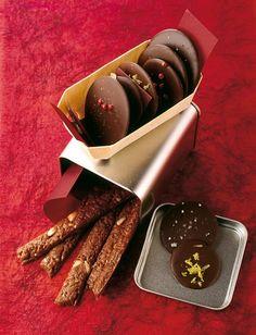 Würzige Schokoladentaler - Weihnachten: Geschenke aus der Küche - 26 - [ESSEN & TRINKEN]
