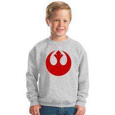 Rebel Alliance Logo Kids Sweatshirt