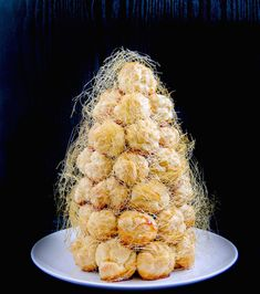 Heavenly!! I want this for my 50th birthday!  croquembouche-1-2bb-905x1024