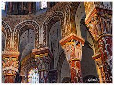 De abdijkerk van Issoire: Tenten koor van St. Austell Basilica - Issoire (© Gérard Charbonnel 2014) - France-Voyage.com
