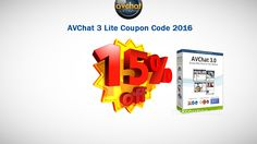 15% OFF AVChat 3 Lite (20 connections) Coupon Code http://tickcoupon.com/coupons/15-percent-off-avchat-3-lite-20-connections-coupon-code