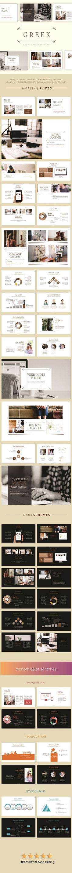 Presentation template #simple #minimalist