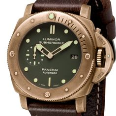 Luminor submersible 1950 3 days automatic bronze edition... beautiful...