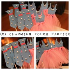 Custom hot pink and blue  Ties and/or by CharmingTouchParties