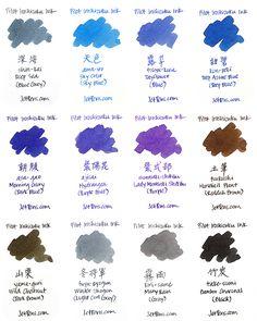Pilot Iroshizuku Fountain Pen Ink - 50 ml Bottle - Shin-kai Deep Sea (Blue Gray) - PILOT INK-50-SNK