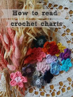 Little Treasures: How to read round crochet charts and a free flower pattern  ༺✿Teresa Restegui http://www.pinterest.com/teretegui/✿༻