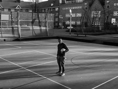 Jermaine Vanenburg 39 is a legend in small-sided football and grew up playing on Zaandammerplein in Amsterdam West. Street football is not a circus - you have to win but win in style he declares. Jermaine is the undisputed Panna King. A panna is when you put the ball through the legs of your opponent. The term comes from the Surinamese word panja meaning to destroy. His nephew is currently signed with Premier League Club Manchester City. @jermainevanenburg #nikefootballx #amsterdam…