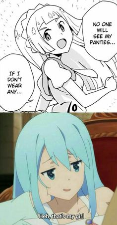 Nice Video With Internet Models + Funny Pictures & Memes On Today's Internet. Anime Meme, Konosuba Anime, Otaku Anime, Anime Comics, Kawaii Anime, Really Funny Memes, Stupid Funny Memes, Funny Relatable Memes, Haha Funny