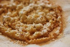 Dairy, Egg and Nut free Funnel Cake - Can also easily be made gluten and soy free. Can't wait to try this!