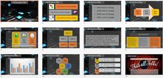 3d Cubes PowerPoint Slide by SageFox