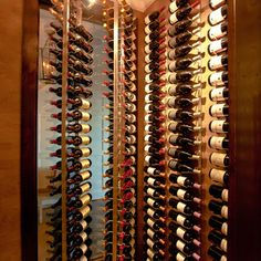 Spinning wine rack...Too Cool!