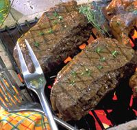 Top Sirloin Stuffed Steak