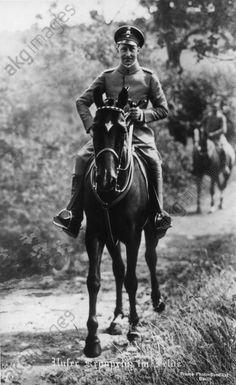 WWI; German Crown Prince Wilhelm. -AKG Images
