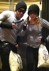 Villian couple !!  sc 1 st  Pinterest & Easy Halloween Costume - DIY Costume - Couples costume - Cop and ...