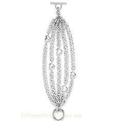 Tiffany & Co Outlet Heart Strings Bracelet