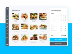 Form Design Web, Pos Design, App Ui Design, Dashboard Design, User Interface Design, Menu Design, Graphic Design, Restaurant App, Restaurant Identity