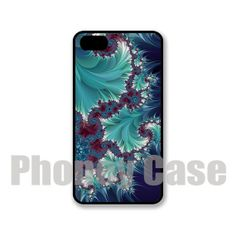 Iphone 5 or 5s Blue Fractal Cell Phone Case 112 by PhoneyCase, $15.00
