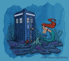 Doctor Who Ariel Part of Every World 11x14 Medium Art Print. This listing is for a 11 x 14 inch open edition photo print. This print is not matted or framed.
