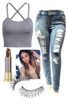 """""""maintaining my status"""" by gabriella-1072 ❤ liked on Polyvore featuring Urban Decay and Trish McEvoy"""