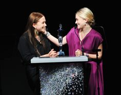Mary-Kate and Ashley Olsen at the 2012 CFDA Fashion Awards Show