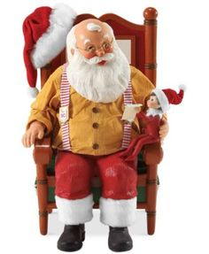 THE ELF ON THE SHELF~Department 56 Possible Dreams Updating St. Nick and Elf Collectible Figurine