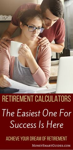 If you want to do any retirement planning, then you need to know how much money you need to save for retirement. Using a retirement calculator is a must and this post tells you which retirement calculators are the best! Retirement Cards, Saving For Retirement, Early Retirement, Retirement Planning, Financial Planning, Retirement Decorations, Retirement Funny, Retirement Savings, Savings Planner