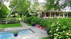 our #Hamptons #pool #gardens