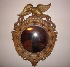 Federal Eagle Convex Mirror