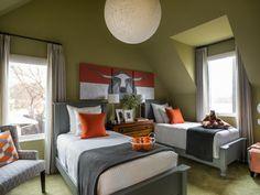 Kids' Bedroom Pictures from HGTV Smart Home 2015   HGTV