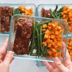 Healthy Meatloaf Meal-Prep Bowls This Meatloaf Meal-Prep recipe . - Healthy Meatloaf Meal-Prep Bowls This Meatloaf Meal-Prep recipe is healthy and whol - Lunch Meal Prep, Meal Prep Bowls, Meal Prep Dinner Ideas, Meal Prep Menu, Meal Preparation, Chicken Meal Prep, Healthy Drinks, Healthy Snacks, Healthy Recipes