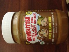 "For any parent that has a child with a peanut or tree nut allergy, check this out. This (called Wow Butter) product is 100% peanut/tree nut free. Plus, it is not made in a facility with peanuts or tree nuts, so there is no risk of ""cross contamination. It is made from soy, and, the best part, IT TASTES EXACTLY LIKE PEANUT BUTTER!!"