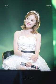 OH MY GIRL - Jine First Girl, My Girl, Girl Group, Short Hair Styles, Tulle, Ballet Skirt, Skirts, Fairytale, Kpop