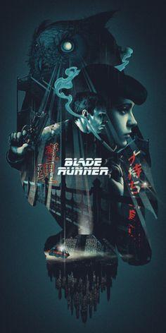 Blade Runner, by John Guydo.Blade Runner, by John Guydo.Blade Runner, by John Guydo. Blade Runner Poster, Blade Runner Art, Blade Runner 2049, Blade Runner Wallpaper, Rachel Blade Runner, Best Movie Posters, Movie Poster Art, Film Posters, Poster Design Movie