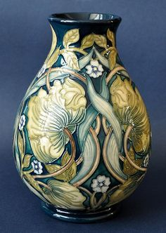 Moorcroft Pottery Pimpernel Perfection 7/7 17cm in height Limited Edition Of 60  http://www.bwthornton.co.uk/moorcroft.php