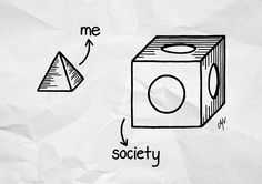 Society and me by MadeByMV
