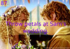 Wish I could have been at Sam's wedding...