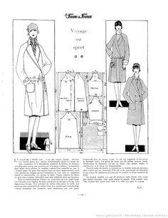 Manteau de voyage (La Femme de France 01/01/1928)