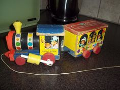 Vintage 1962 Fisher Price 192 circus train set by BargainsByTrina