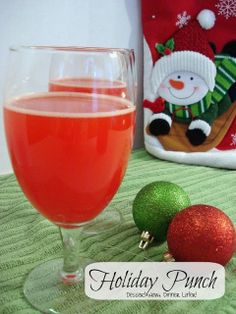 Dessert Now, Dinner Later!: Holiday Punch