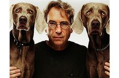 """""""My Weimaraners are perfect fashion models. Their elegant, slinky forms are covered in gray - and gray, everyone knows, goes with anything.""""  - William Wegman"""