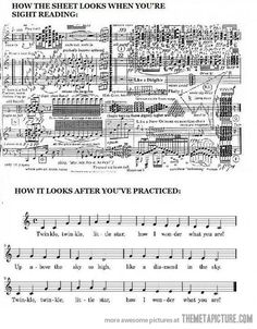 How music reading works…