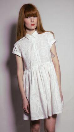 Les Chats Perchés - french brand - romantic white dress