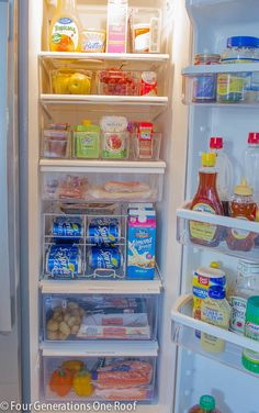 Organizing fridge